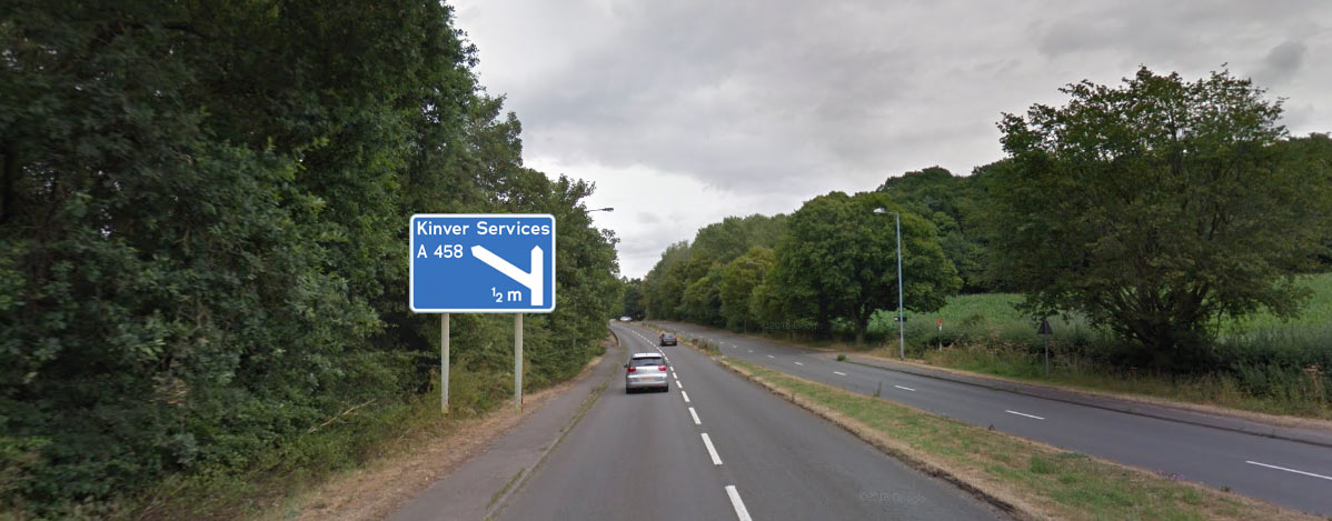 "Kinver to be renamed ""Kinver Services"" under Western Orbital Motorway plans"