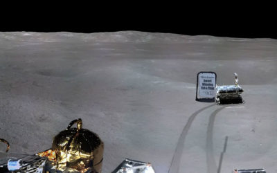 Poorly placed A-board causes Chinese moon rover to swerve